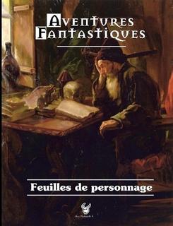 Couverture du Livret de feuilles de personnages A-F