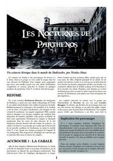 Couverture des Nocturnes de Parthenos
